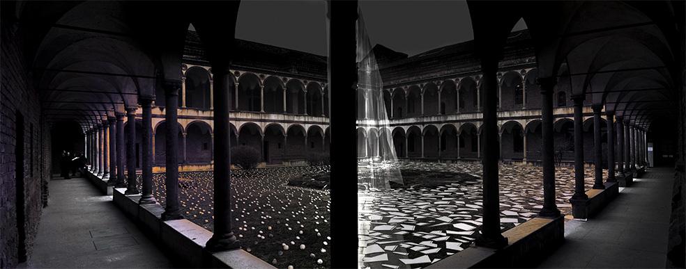Una nuvola di ceramica targata Japan. Al fuorisalone di Milano l'architettura diventa un'esperienza digitale eterea.
