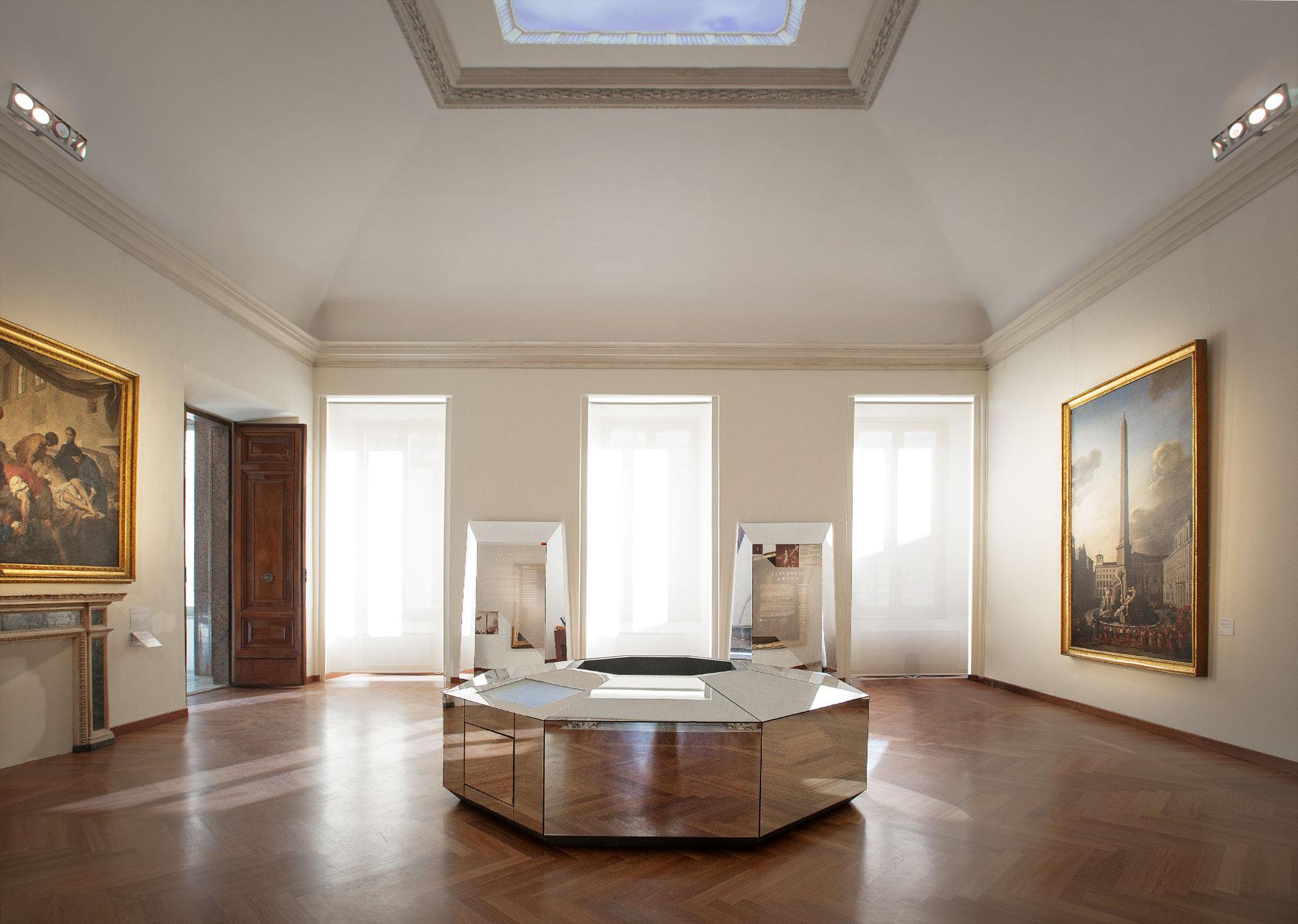 Nuovo Museo di Roma: Studio Visuale progetta l'identità, la segnaletica ed il progetto di mostra di Palazzo Braschi.